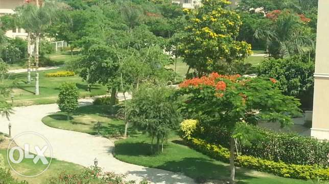 Vila for rent in a exclusive compound facing rehab