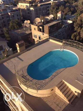 Luxurious fully furnished penthouse 370 m 4 bedrooms for rent in Maadi