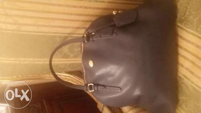 Original Coach bag blue in a very good condition حالتها جيدة جدا الدقى  -  1