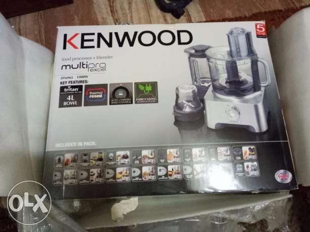 kitchen machine kenwood fpm902 كتشن ماشين كينوود