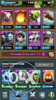 Clash Royal and clash of clan accounts