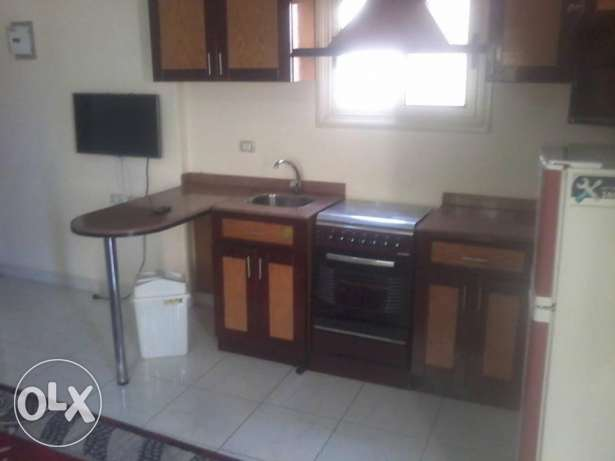 One-bedroom furnished apartment for rent in Hadaba area.1600 LE