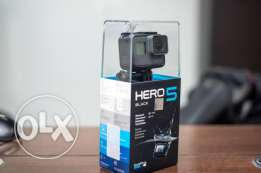 GoPro Hero 5 - Action Camera - Black Edition - New - Sealed - متبرشمة