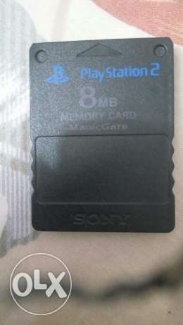 Memory Card play station 2 8 MB