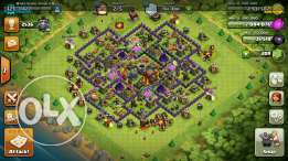 Clash of clans TH10 LVL 121 king & Queen LVL 15