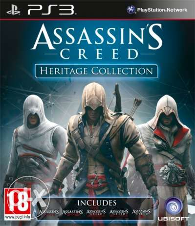 مطلوب Assassin's Creed collection for PS3