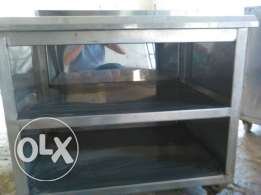 Stainless 2 meter table made in HOLLAND