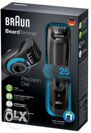 NEW Braun BT5090 Beard Trimmer With 2 Comb Attachments + Soft Pouch