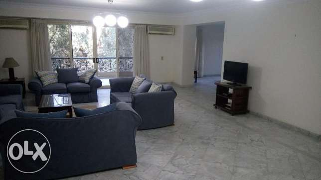 Nice apartment for rent in Sarayat El very maadi 4 bedroom 5 balcony