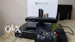 xbox 360 super slim hard 500 with kinect and 1 controller moded hard