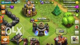 Coc account th8.75(th9 without x-bows)
