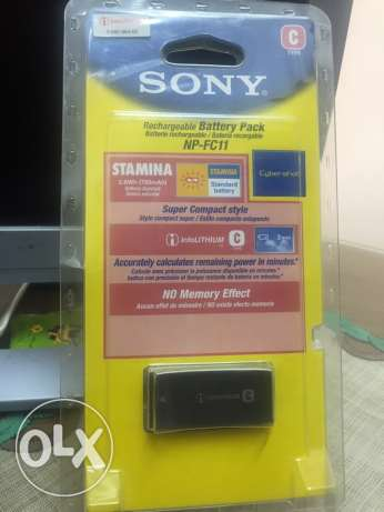 SONY. Rechargeable Battery