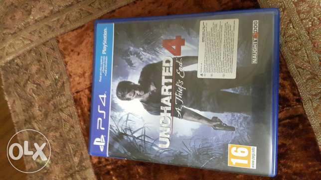 Uncharted 4 for sale only