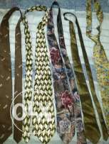 Collection of ties for neck original brands