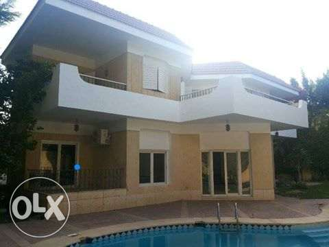 Villa for rent Mena Garden City Compound