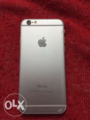 iphone 6 silver 64 GiGa without box الساحل -  2