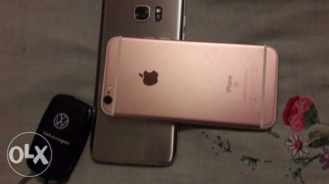 IPhone 6s 128.GB.   روز جولد