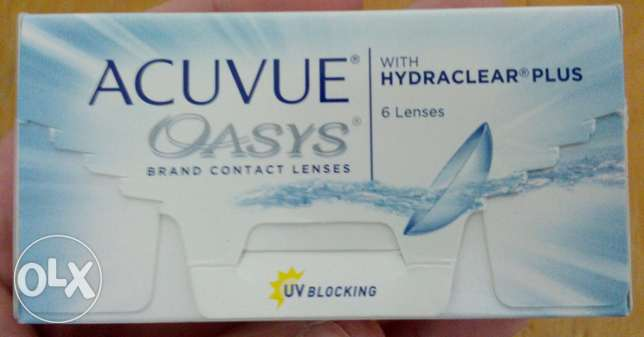 ACUVUE Oasys (-3.50) contact lenses