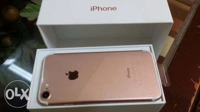 iphone 7 rose gold 128 جيجا بايت