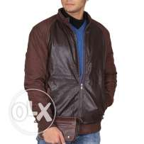 ZARA winter-classic-mens-jacket لون بني