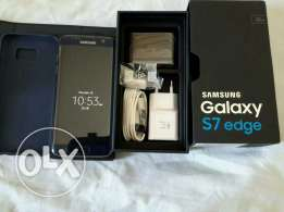 S7 edge 32gb blue with box