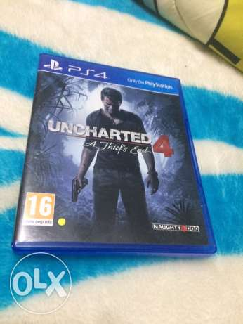 Uncharted 4 : PS4 Game , For sale and trade