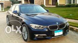 Dark Blue BMW 320i 2015 Luxury