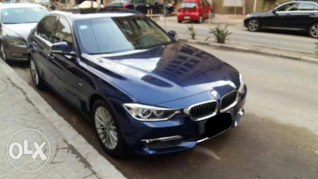 BMW 320 Luxury كحلى فرش هافان 2014