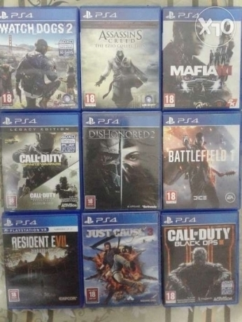 Ps4 games good as new for sale