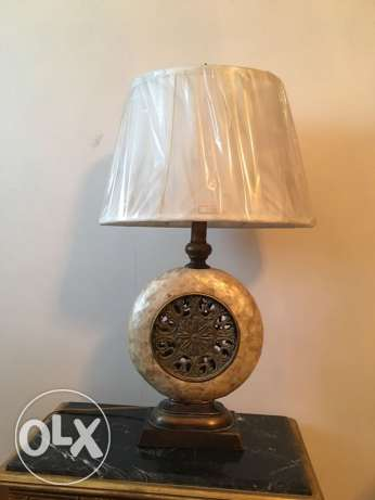 Table lamp تيبل لامب عدد 2