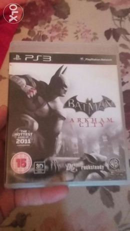 Batman arkham city ps3 like new