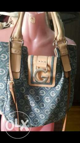 Used once guess denim bag