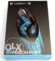 Logitech G402 Hyperion Fury FPS Gaming Mouse **جديد متبرشم**