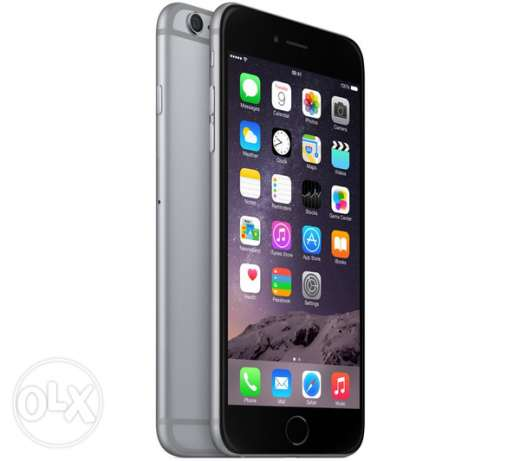 Apple iPhone ( 6 Plus ) With FaceTime - 64GB, 4G LTE, Space Gray
