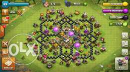 Clash of Clans town8 max !!