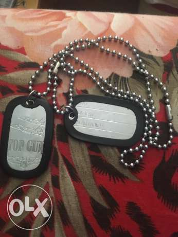 American stainless steel dog tags ( army id necklaces )