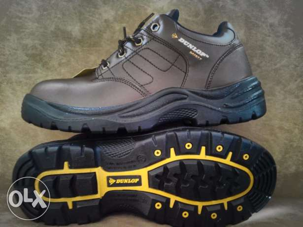 Safety Shoes DUNLOP Original Size 44 Real Leather