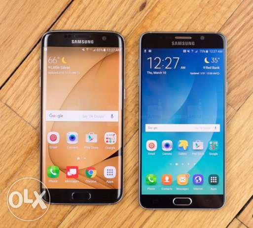 wanted Samsung note 5 or 7 edge duos مطلوب شراء سامسونج نوت بخطين