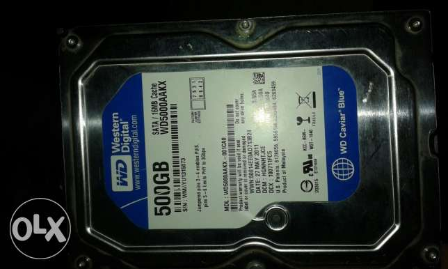 Hard500 GB sata