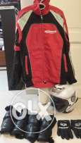 motorcycle jacket / vest