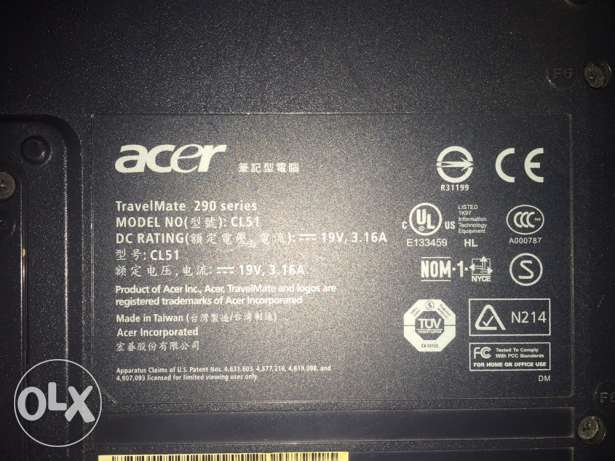 Old Acer laptop for sale as scrap القاهرة الجديدة -  2