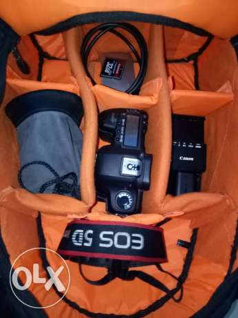 Canon 5d mark 2 with bag, follow focus , tripod and full accessories