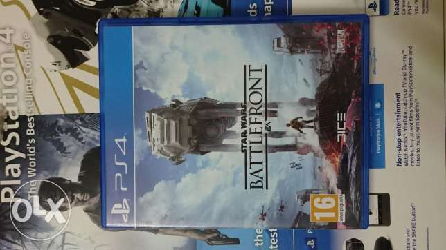 Star wars Battlefront ps4عربي