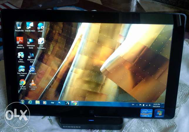 Tablet laptop Samsung slate XE700T1A06US core I5 in excellent conditio عين شمس -  2