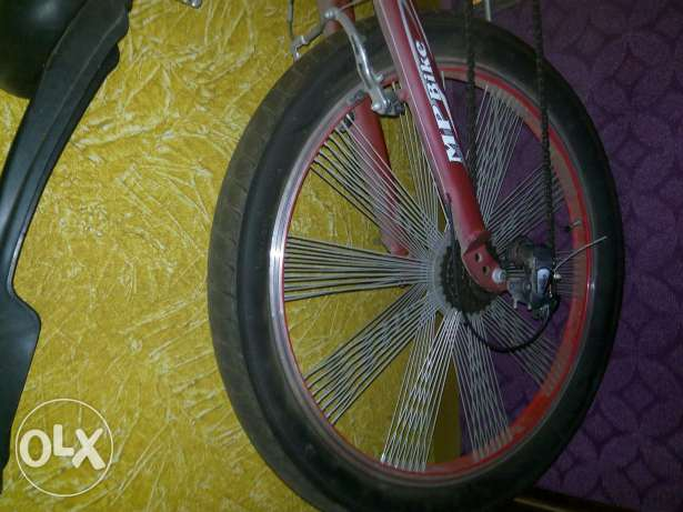 Bike 24 used like new red color شبرا -  2