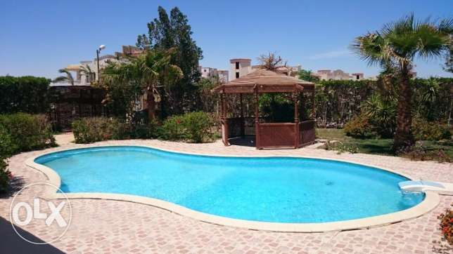 Fully Furnished Villa with Pool in Phase 1 of Moubarak 7 area الغردقة -  1