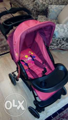Stroller, baby carrier and carry cot