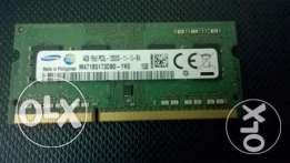 Samsung Laptop Ram 4GB 1600mhz speed للبيع