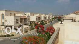 Town House in Greens compound for rent sheikh zayed