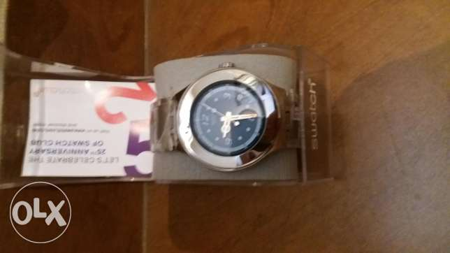 Swatch original swiss made watch new with the box and the guarantee